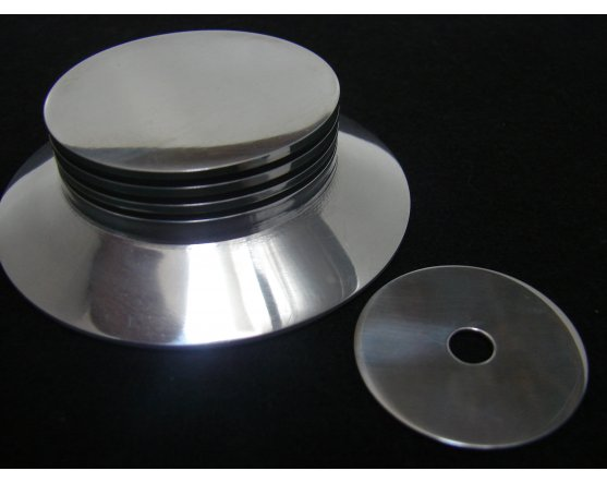 WEIGHT VERSION CENTERER RECORD CLAMP