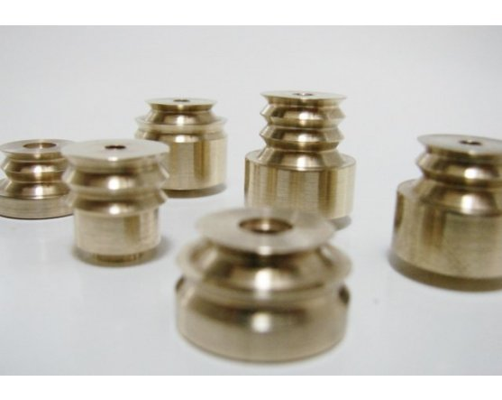 BRASS PREMIUM PULLEY UPGRADE FOR MORES, DEL CARRIL, PUGLIESE OR CANARO KITS